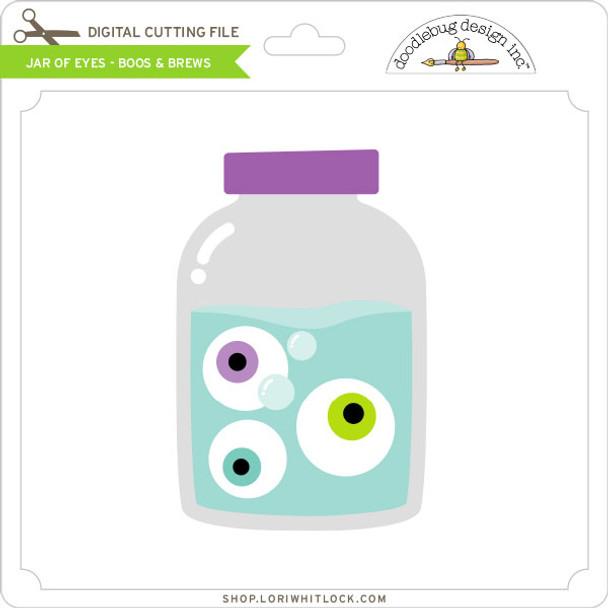Jar of Eyes - Boos & Brews