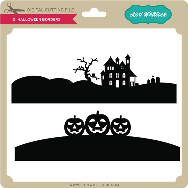 2 Halloween Borders