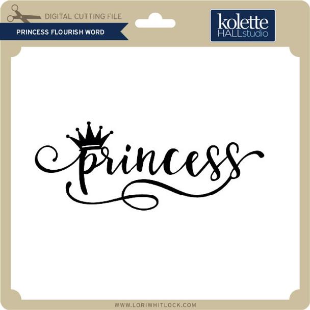 Princess Flourish Word