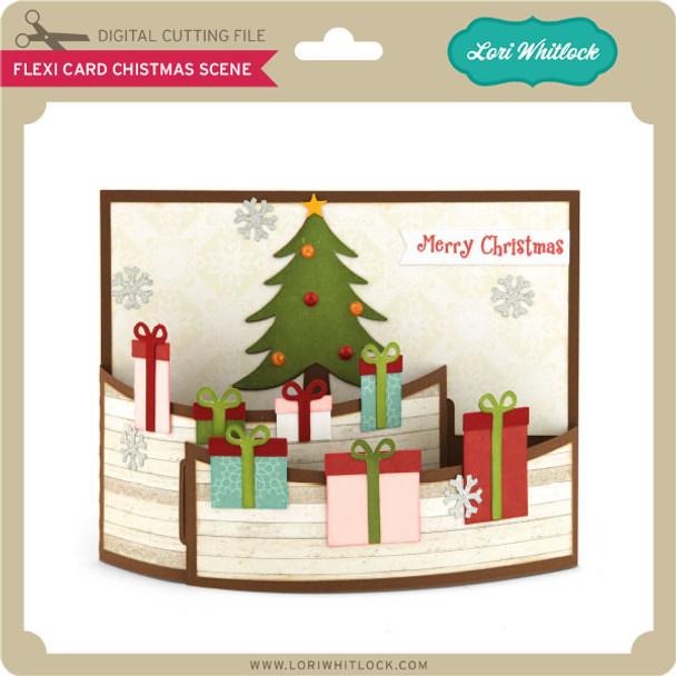 Flexi Card Christmas Scene