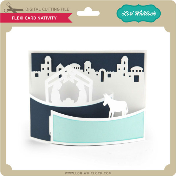Flexi Card Nativity