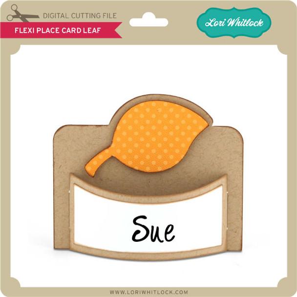 Flexi Place Card Leaf