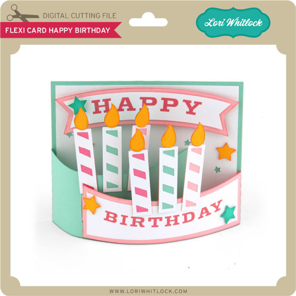 Flexi Card Happy Birthday