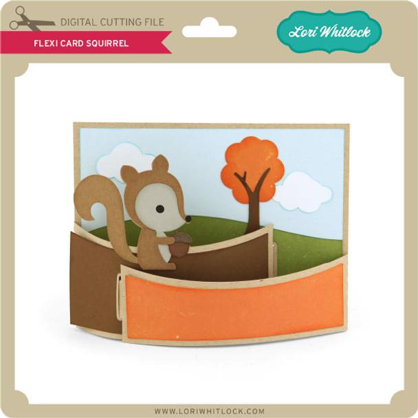Flexi Card Squirrel