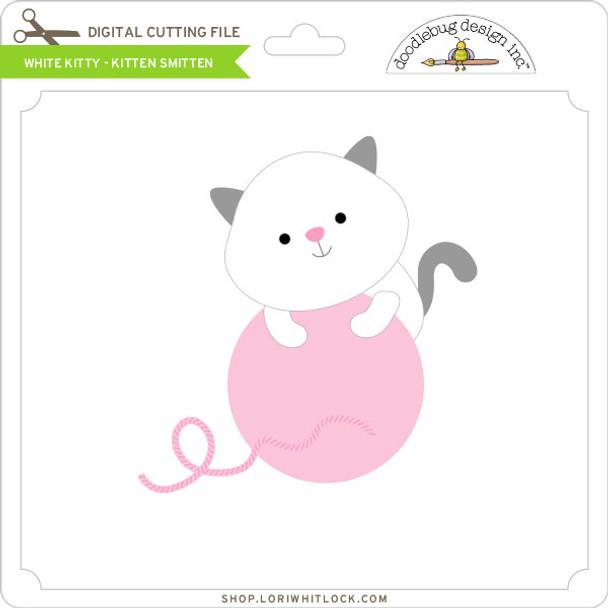 White Kitty Kitten Smitten