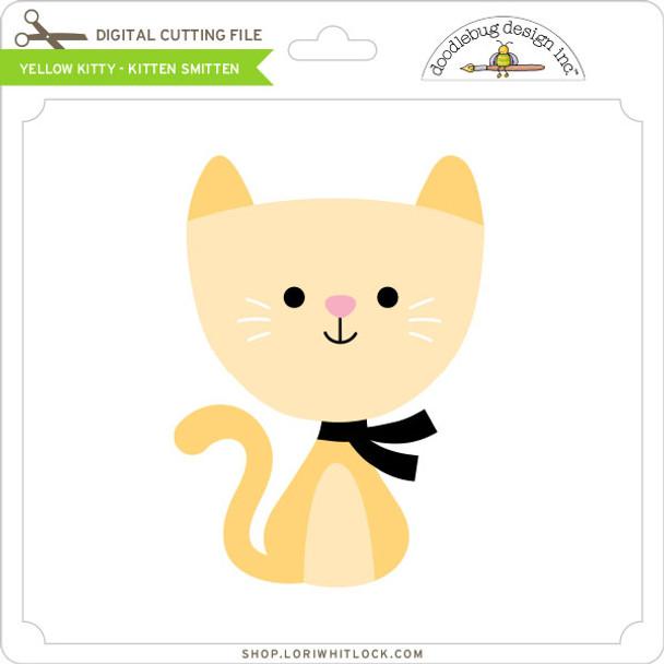 Yellow Kitty Kitten Smitten