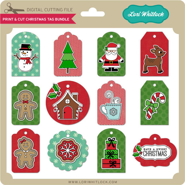 Print & Cut Christmas Tag Bundle