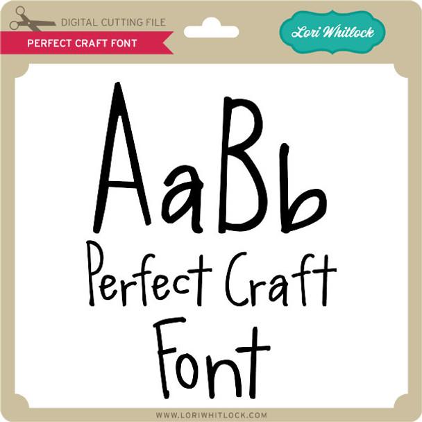 Perfect Craft Font