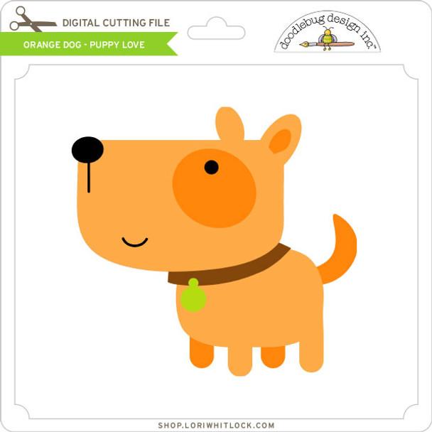 Orange Dog Puppy Love