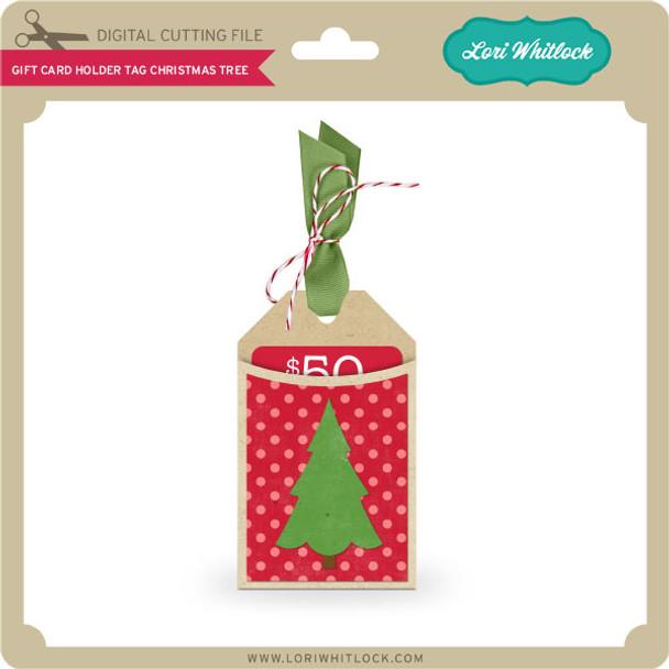 Gift Card Holder Tag Christmas Tree