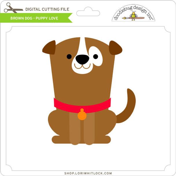 Brown Dog Puppy Love