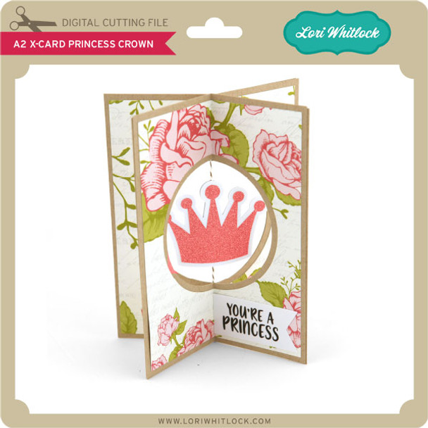 A2 X-Card Princess Crown