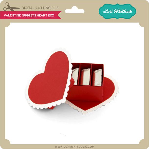 Valentine Nuggets Heart Box