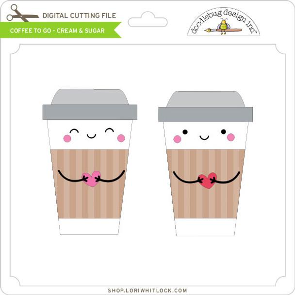 Coffee To Go - Cream & Sugar