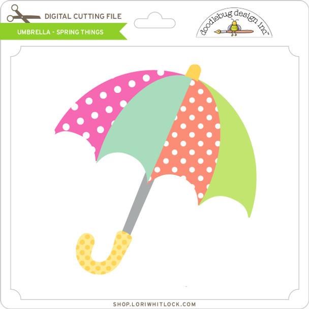 Umbrella - Spring Things