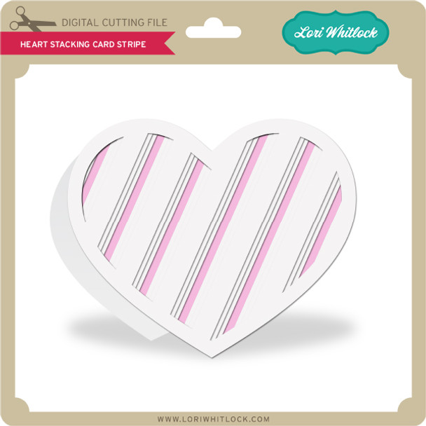 Heart Stacking Card Stripe