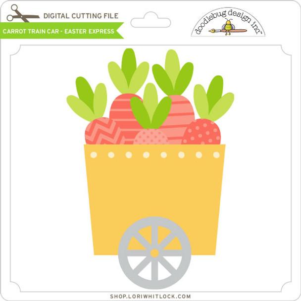 Carrot Train Car - Easter Express