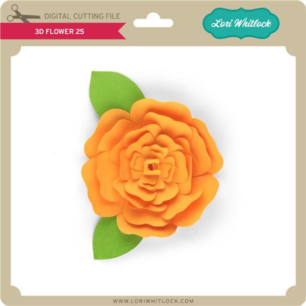 3D Flower 25