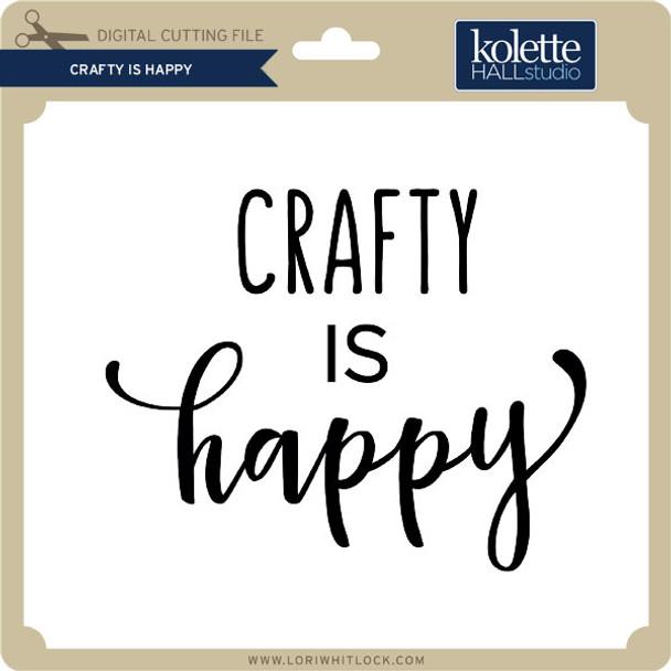 Crafty is Happy