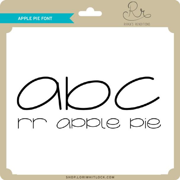 Apple Pie Font
