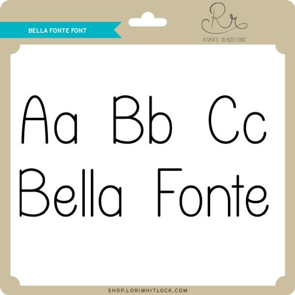 Bella Fonte Font