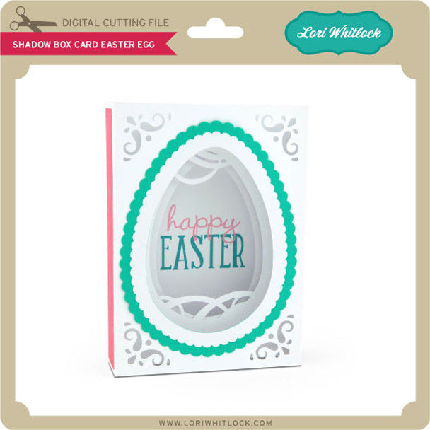 Shadow Box Card Easter Egg