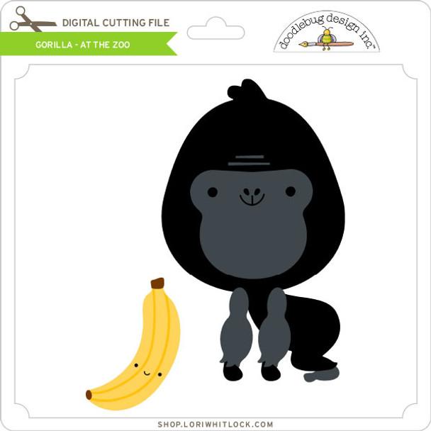 Gorilla - At The Zoo