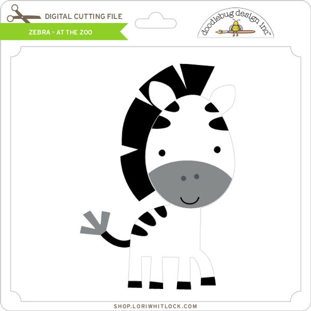 Zebra - At The Zoo