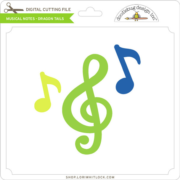 Musical Notes - Dragon Tails