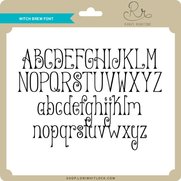Witch Brew Font