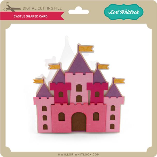 Castle Shaped Card