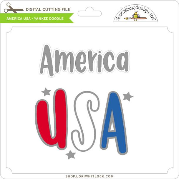 America USA - Yankee Doodle
