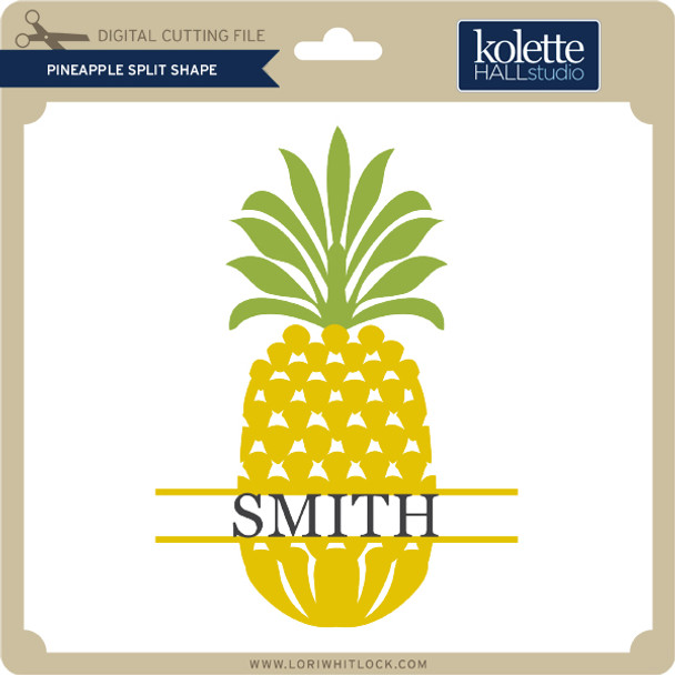 Pineapple Split Shape