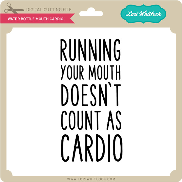 Water Bottle Mouth Cardio
