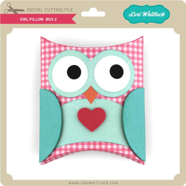 Owl Pillow Box 2