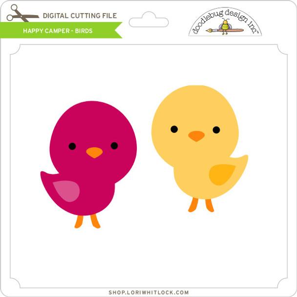 Happy Camper - Birds