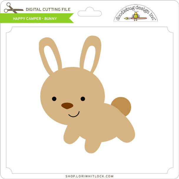Happy Camper - Bunny