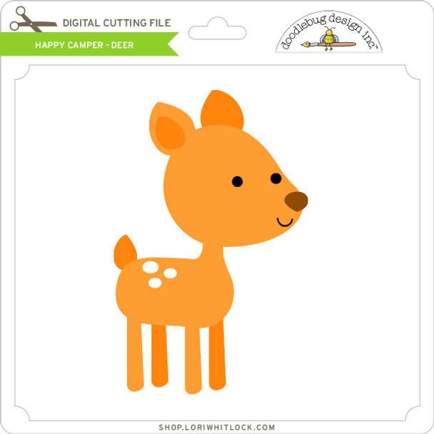 Happy Camper - Deer