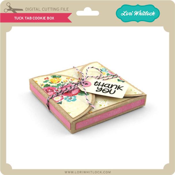 Tuck Tab Cookie Box