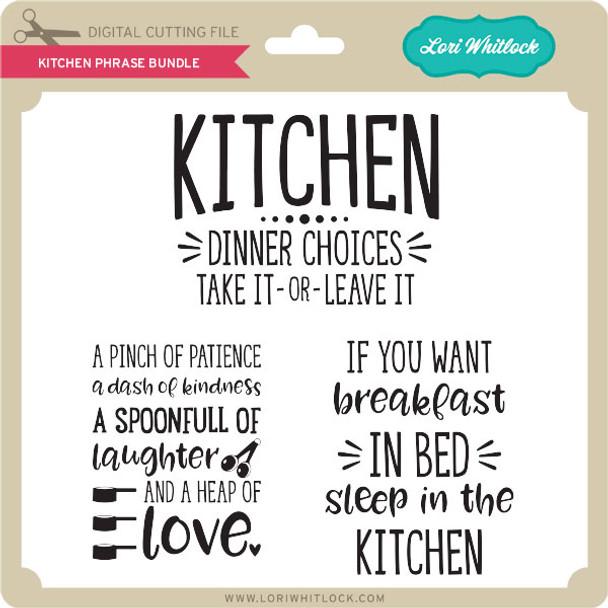 Kitchen Phrase Bundle