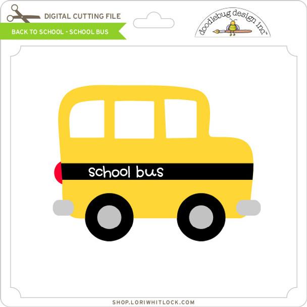Back To School - School - Bus