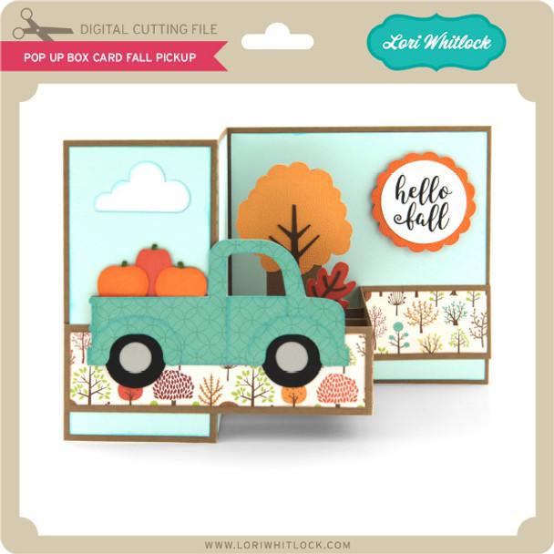 Pop Up Box Card Fall Pickup