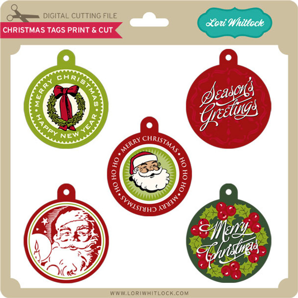 Christmas Tags Print&Cut
