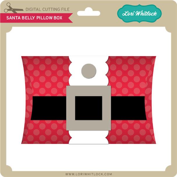 Santa Belly Pillow Box