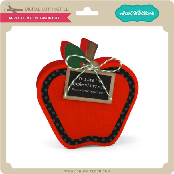 Apple of My Eye Favor Box
