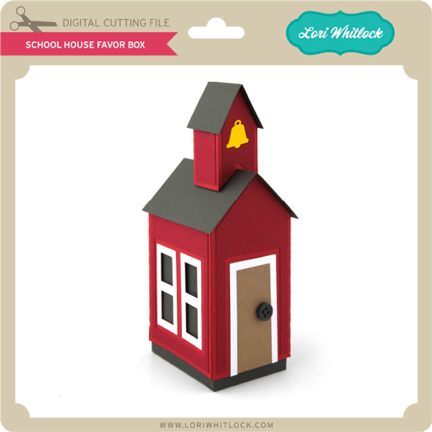 School House Favor Box