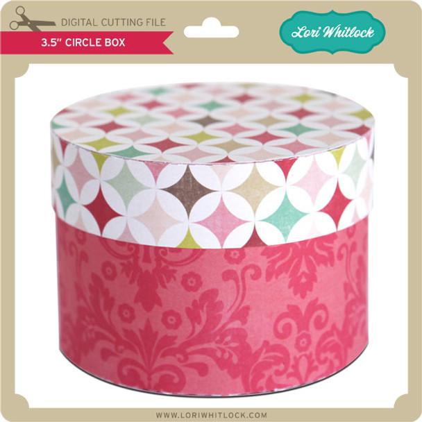 """3.5"""" Circle Box"""