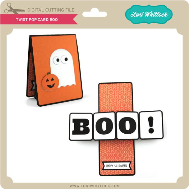 Twist Pop Card BOO