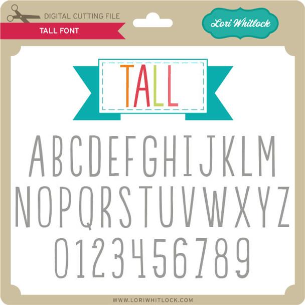 Tall Font