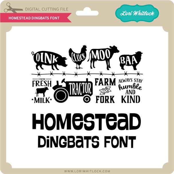 Homestead Dingbats Font